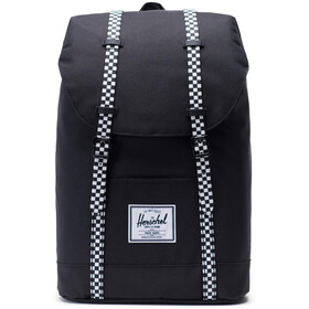 Herschel Retreat Backpack 19,5l, black/checkerboard